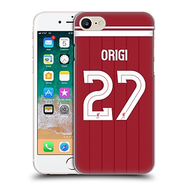 Official Liverpool Football Club Players Home Kit 17/18 Group 1 Divock Origi Hard Back Case For Apple Iphone 7 / 8