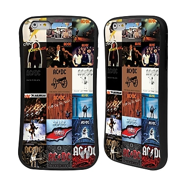 Official AC/DC Acdc Collage Album Covers Hybrid Case For Apple Iphone 6 Plus / 6S Plus
