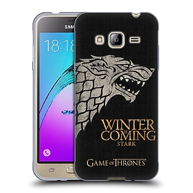 Official HBO Game Of Thrones House Mottos Stark Soft Gel Case For Samsung Galaxy J3
