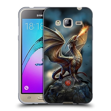 Official Anne Stokes Dragons Noble Soft Gel Case For Samsung Galaxy J3