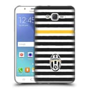 Official Juventus Football Club Lifestyle Horizontal Stripes Hard Back Case For Samsung Galaxy J7