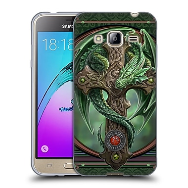 Official Anne Stokes Dragons Woodland Guardian Soft Gel Case For Samsung Galaxy J3