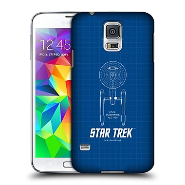Official Star Trek Ships Of The Line Tos Uss Enterprise Ncc-1701 Hard Back Case For Samsung Galaxy S5 / S5 Neo