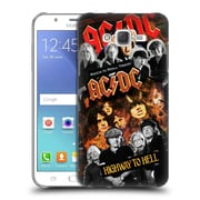 Official AC/DC Acdc Collage Group Hard Back Case For Samsung Galaxy J7