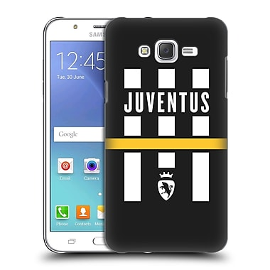 Official Juventus Football Club Lifestyle Logo Explosion Black Hard Back Case For Samsung Galaxy J7