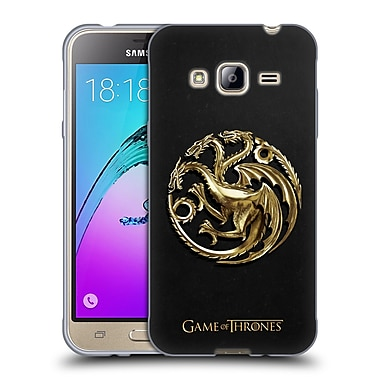 Official HBO Game Of Thrones Sigils Gold Targaryen Soft Gel Case For Samsung Galaxy J3