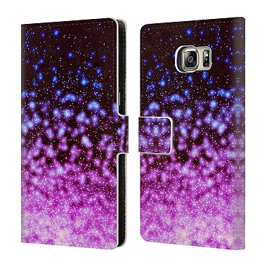 Official Monika Strigel Magic Lights 2 Summer Leather Book Wallet Case Cover For Samsung Galaxy S6 Edge+ / Plus