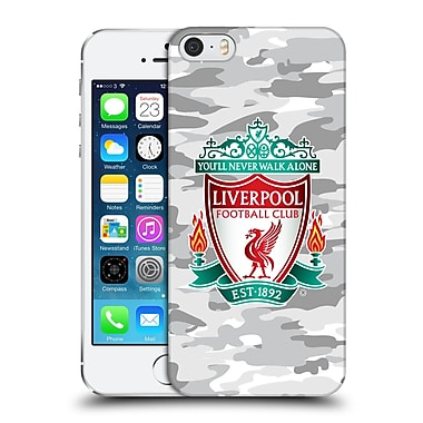 Official Liverpool Football Club Camou Third Colourways Crest Hard Back Case For Apple Iphone 5 / 5S / Se