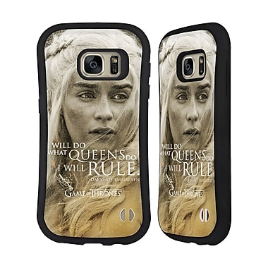 Official HBO Game Of Thrones Character Portraits Daenerys Targaryen Hybrid Case For Samsung Galaxy S7