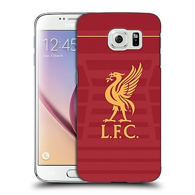 Official Liverpool Football Club Kit 2016/17 Liver Bird Home Shirt Hard Back Case For Samsung Galaxy S6