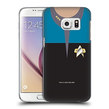 Official Star Trek Uniforms And Badges Ds9 Commander Hard Back Case For Samsung Galaxy S7