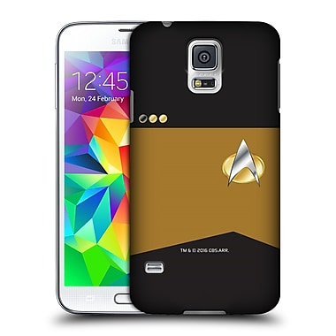 Official Star Trek Uniforms And Badges Tng Lieutenant Commander Hard Back Case For Samsung Galaxy S5 / S5 Neo