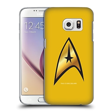 Official Star Trek Uniforms And Badges Tos Command Solo Hard Back Case For Samsung Galaxy S7