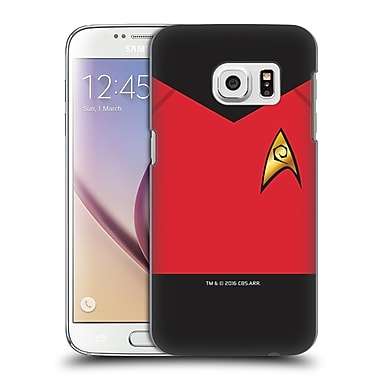 Official Star Trek Uniforms And Badges Tos Operations Hard Back Case For Samsung Galaxy S7