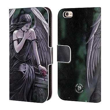 Official Anne Stokes Angels Lost Soul Leather Book Wallet Case Cover For Apple Iphone 6 / 6S