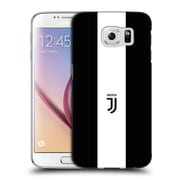 Official Juventus Football Club Lifestyle 2 Bold White Stripe Hard Back Case For Samsung Galaxy S6