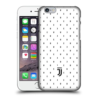 Official Juventus Football Club Lifestyle 2 White Logo Type Pattern Hard Back Case For Apple Iphone 6 / 6S