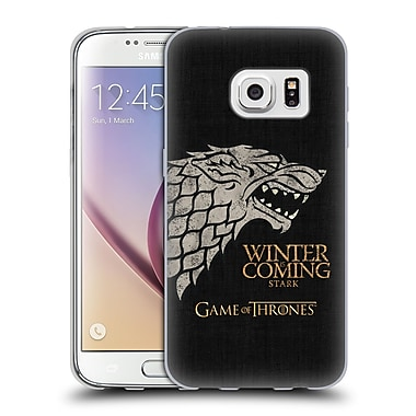 Official HBO Game Of Thrones House Mottos Stark Soft Gel Case For Samsung Galaxy S7