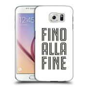 Official Juventus Football Club Type Fino Alla Fine White Hard Back Case For Samsung Galaxy S6