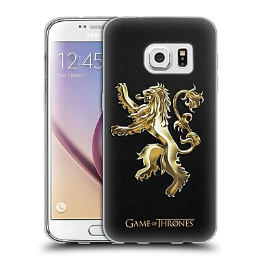 Official HBO Game Of Thrones Sigils Gold Lannister Soft Gel Case For Samsung Galaxy S7