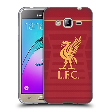 Official Liverpool Football Club Kit 2016/17 Liver Bird Home Shirt Soft Gel Case For Samsung Galaxy J3
