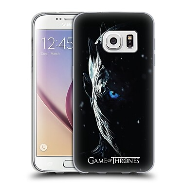 Official HBO Game Of Thrones Season 7 Key Art Night King Soft Gel Case For Samsung Galaxy S7