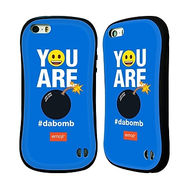 Official Emoji Flat Dabomb Hybrid Case For Apple Iphone 5 / 5S / Se