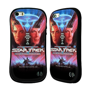 Official Star Trek Movie Posters Tos The Final Frontier Hybrid Case For Apple Iphone 5 / 5S / Se