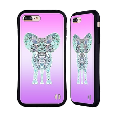 Official Monika Strigel Gypsy Elephant Lavender Hybrid Case For Apple Iphone 7 Plus / 8 Plus