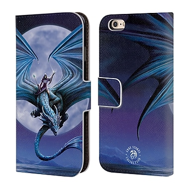 Official Anne Stokes Dragons 3 Moonstone Leather Book Wallet Case Cover For Apple Iphone 6 / 6S