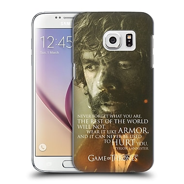 Official HBO Game Of Thrones Character Portraits Tyrion Lannister Hard Back Case For Samsung Galaxy S7