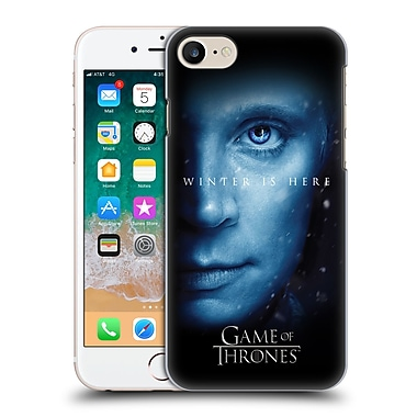 Official HBO Game Of Thrones Winter Is Here Brienne Hard Back Case For Apple Iphone 7 / 8