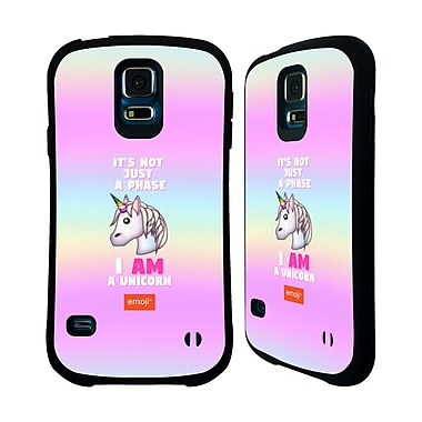 Official Emoji Pastel Unicorns Phase Hybrid Case For Samsung Galaxy S5 / S5 Neo