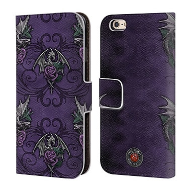 Official Anne Stokes Dragons 3 Pattern Leather Book Wallet Case Cover For Apple Iphone 6 / 6S