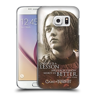Official HBO Game Of Thrones Character Portraits Arya Stark Hard Back Case For Samsung Galaxy S7
