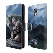 Official Anne Stokes Wolves Protector Leather Book Wallet Case Cover For Samsung Galaxy Note 4