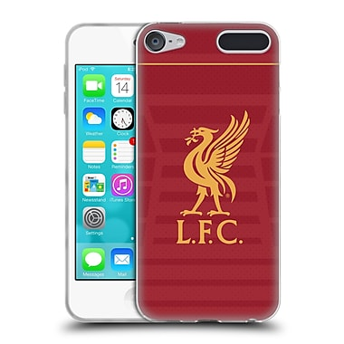 Official Liverpool Football Club Kit 2016/17 Liver Bird Home Shirt Soft Gel Case For Apple Ipod Touch 6G 6th Gen