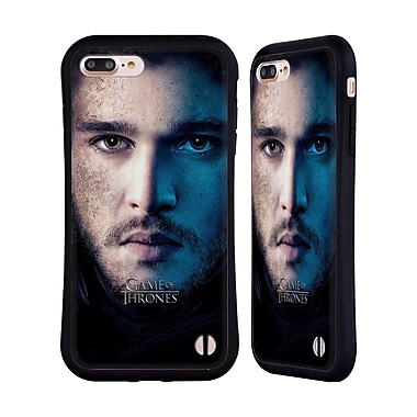 Official HBO Game Of Thrones Valar Morghulis Jon Snow Hybrid Case For Apple Iphone 7 Plus / 8 Plus