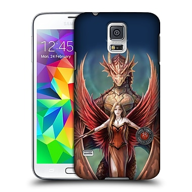 Official Anne Stokes Dragon Friendship Copperwings Hard Back Case For Samsung Galaxy S5 / S5 Neo