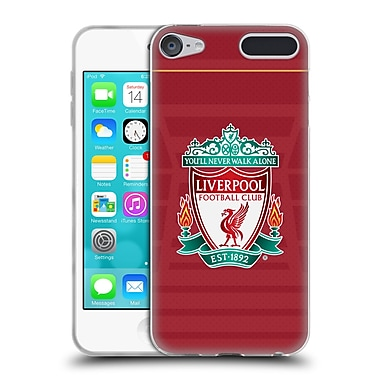 Official Liverpool Football Club Kit 2016/17 Crest Home Shirt Soft Gel Case For Apple Ipod Touch 6G 6th Gen