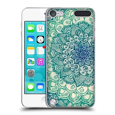Official Micklyn Le Feuvre Mandala 3 Emerald Doodle Hard Back Case For Ipod Touch 5th Gen / 6th Gen