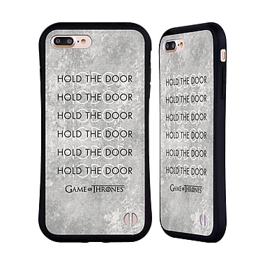 Official HBO Game Of Thrones Hodor Hold The Door 3 Hybrid Case For Apple Iphone 7 Plus / 8 Plus