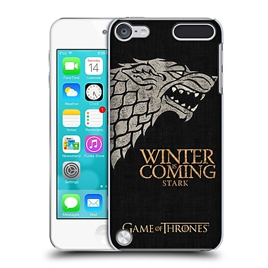 Official HBO Game Of Thrones House Mottos Stark Hard Back Case For Ipod Touch 5th Gen / 6th Gen