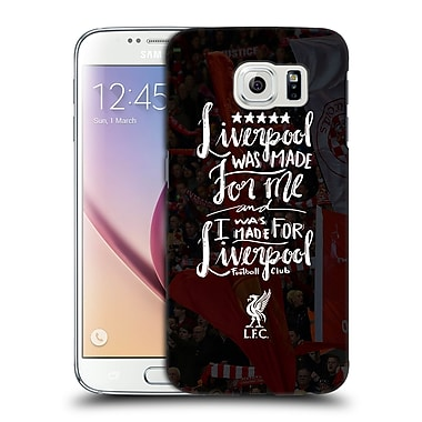 Official Liverpool Football Club Redmen Was Made For Hard Back Case For Samsung Galaxy S6