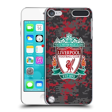 Official Liverpool Football Club Digital Camouflage Club Colours Crest Hard Back Case For Ipod Touch 5th Gen / 6th Gen