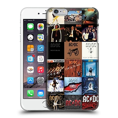 Official AC/DC Acdc Collage Album Covers Hard Back Case For Apple Iphone 6 Plus / 6S Plus
