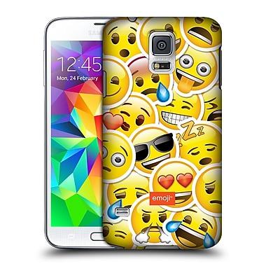 Official Emoji Smileys Sticker Hard Back Case For Samsung Galaxy S5 / S5 Neo