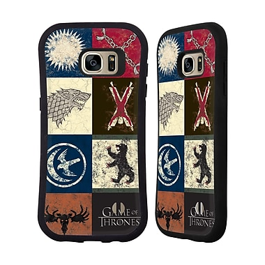 Official HBO Game Of Thrones Battle Of The Bastards House Sigils Hybrid Case For Samsung Galaxy S7 Edge