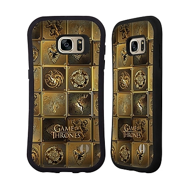 Official HBO Game Of Thrones Golden Sigils All Houses Hybrid Case For Samsung Galaxy S7 Edge