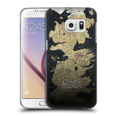 Official HBO Game Of Thrones Key Art Westeros Map Hard Back Case For Samsung Galaxy S7